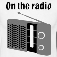 T-shirts On the radio 80s personnalisés