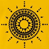 Accessoires und T-Shirts Ornamentale Blume Indien gestalten