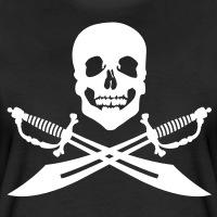Accessoires und T-Shirts Pirat mit Säbeln gestalten