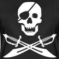 Accessoires und T-Shirts Pirat und Schwerten gestalten