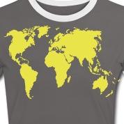 Accessoires und T-Shirts Planiglobium gestalten