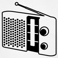T-shirts Radio Apparat vintage personnalisés
