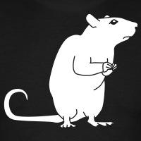 Accessoires und T-Shirts Ratte gestalten