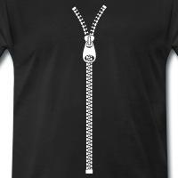 Accessoires und T-Shirts Reißverschluss gestalten