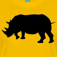 Accessoires und T-Shirts Rhino Nashorn gestalten