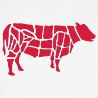 Accessoires und T-Shirts Rindfleisch Metzger Schürze gestalten