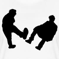 Accessoires und T-Shirts Sad Keanu versus Mosh Girl Kampf gestalten