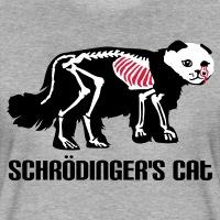 Accessoires und T-Shirts Schroedinger Katze Zombie gestalten