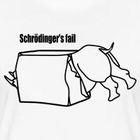 T-shirts Schroedingers fail Rhino personnalisés