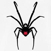 Accessoires und T-Shirts Schwarze Witwe Spinne gestalten
