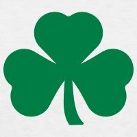Accessoires und T-Shirts Shamrock Klee St Patrick's Day gestalten