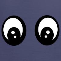 Accessoires und T-Shirts Smiley Augen gestalten