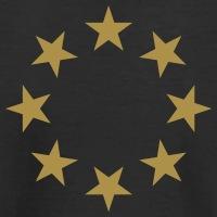 Accessoires und T-Shirts Sterne Kreis gestalten