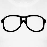 Accessoires und T-Shirts Steve Urkel Brille Nerd gestalten