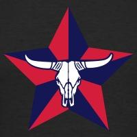 T-shirts Texas Kuhkopf personnalisés