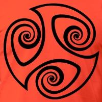 Accessoires und T-Shirts Triskele 17 gestalten