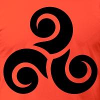 Accessoires und T-Shirts Triskelion 9 gestalten