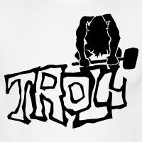 Accessoires und T-Shirts Troll mit einem Hammer gestalten
