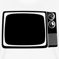 Accessoires und T-Shirts TV vintage Fernseher gestalten