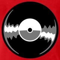 T-shirts Vinyl Schallplatte Reflexe personnalisés