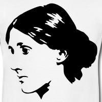 Accessoires und T-Shirts Virginia Woolf gestalten
