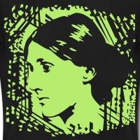 Accessoires und T-Shirts Virginia Woolf Porträt gestalten