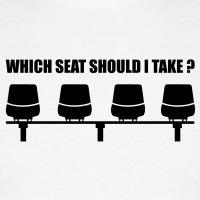 Accessoires und T-Shirts which seat should i take gestalten
