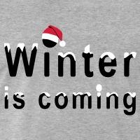 Accessoires und T-Shirts Winter coming Weihnachten Schnee gestalten