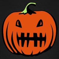 T-shirts Zahnlos Kürbis Halloween personnalisés