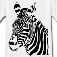 Accessoires und T-Shirts Zebra weisse Nase gestalten