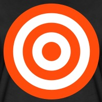 T-shirts Zielscheibe personnalisés
