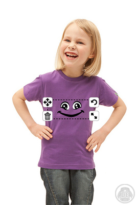 Kinder T-Shirt Smiley