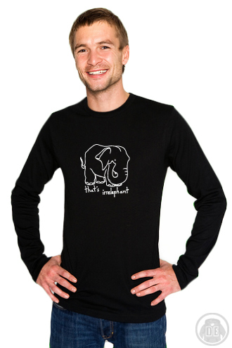 That's Irrelephant Langarmshirt