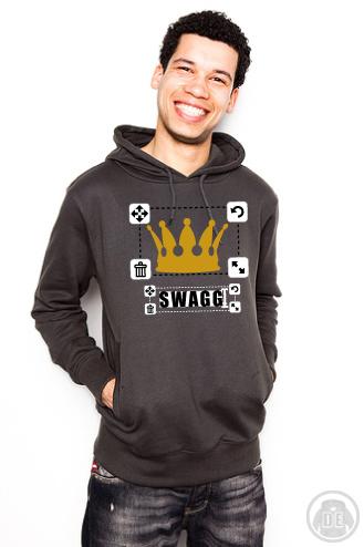 Hoodie Swagg mit Krone