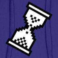 T-shirts Cursor Sanduhr undurchsichtig personnalisés