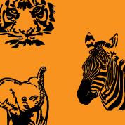 Wilde Tiere Designs Wilde Tiere und Wildnis Design...