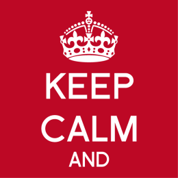 Gestalte dein Keep Calm T-Shirt