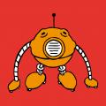 Lustiger Roboter T-Shirt. Selbst gestalte ein Nerd T-Shirt. Robotik Design.