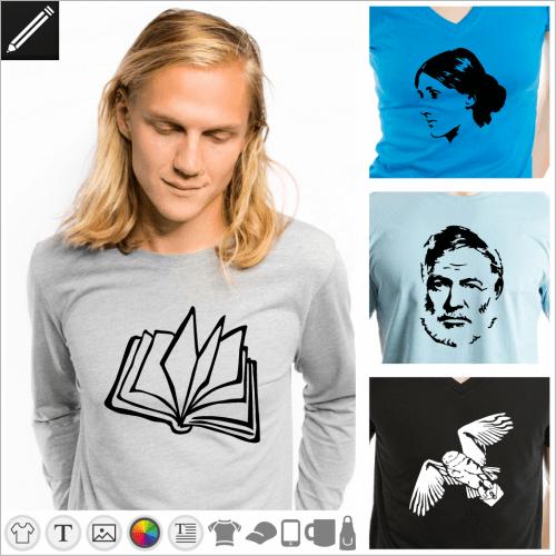 Geschichte T-Shirt gestalten