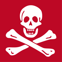 Gestalte dein Piratenflagge T-Shirt online