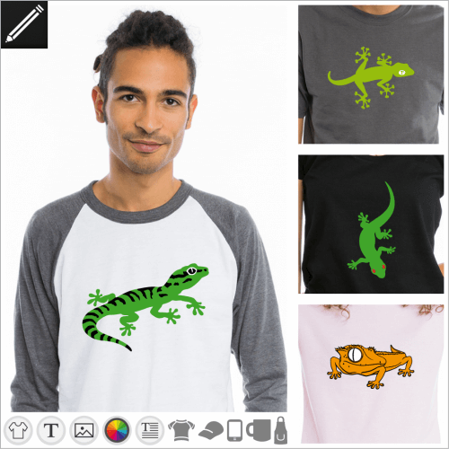 Selbst gestalte dein Reptil T-Shirt