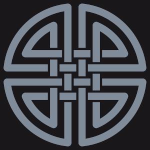 Keltisches T-Shirt gestalten. Keltischer Knoten, um ihn online anzupassen. Ein keltisches Design.
