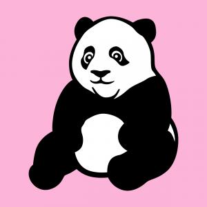 Drucken Sie in wenigen Schritten ein individuelles Panda-T-Shirt mit dem Designer-Spreadshirt und diesem sitzenden Panda-Design.