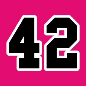 42 Design für T-Shirt Druck