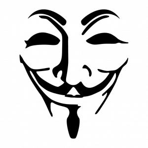 Anonymous und Hacking Design für T-Shirt Druck