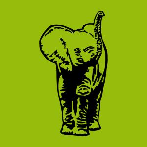 Elefanten T-Shirt zu gestalten. Elefantenbaby Designs für T-Shirt Druck.