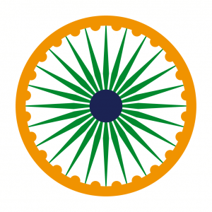 Indien T-Shirt zu gestalten. Flagge Indiens Designs für T-Shirt Druck.