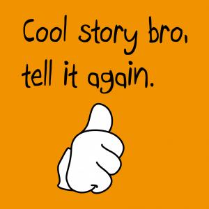 Cool story T-Shirt zu gestalten. Thumbs Up Designs für T-Shirt Druck.