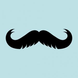 Lustiger Schnurrbart T-Shirt zu gestalten. Schnurrbärte Designs für T-Shirt Druck.
