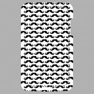 Schnurrbart Design für Handy Hülle Druck